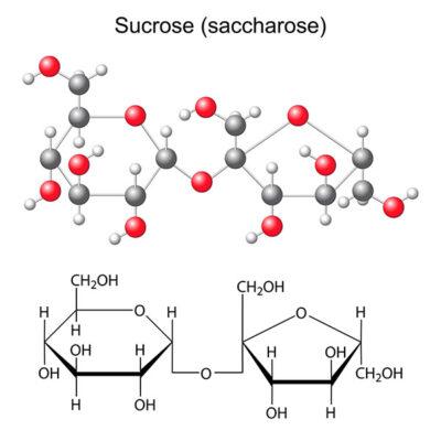 struktur sukrosa