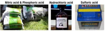 Asam nitrat dan asam fosfat