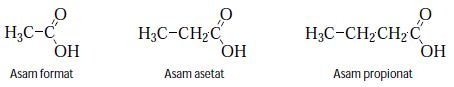 contoh asam karboksilat