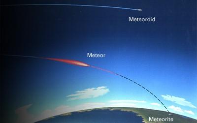 Perbedaan Antara Meteor dan Meteorit