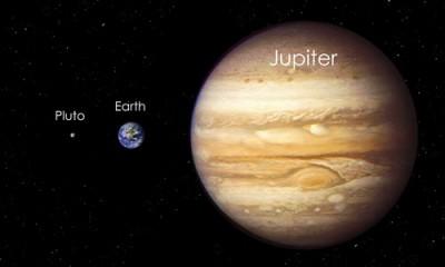 Perbedaan Planet Jupiter dan Bumi 1