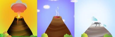 Gunung berapi bisa aktif