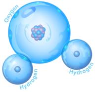 Sebuah molekul air