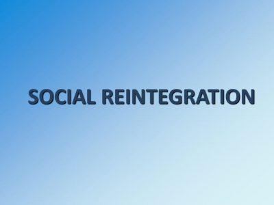 Pengertian Reintegrasi Sosial