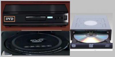 Macam-macam DVD yang Beredar di Pasaran