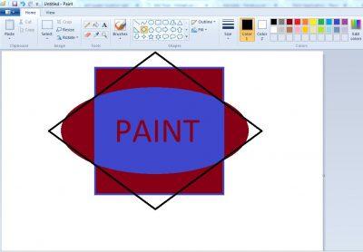 Cara Membuat Teks Pada Aplikasi Paint