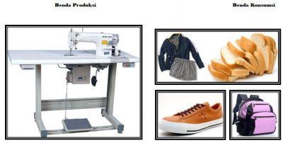 Perbedaan Antara Benda Konsumsi Dan Benda Produksi