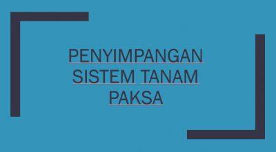 Apa dampak tanam paksa bagi rakyat indonesia dan belanda